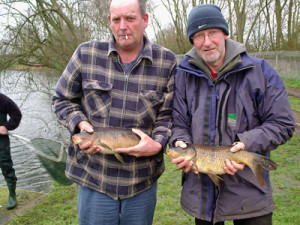Ian and Glen with some Commons