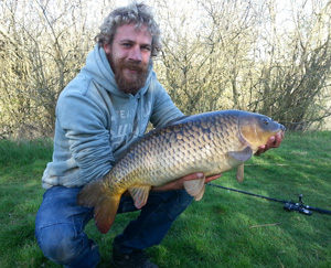 23lb Carp from Common Pond