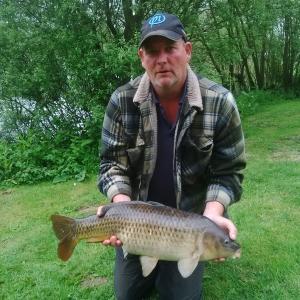 Ian Moore's 13lb 10oz Common Carp